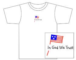 Men's In God We Trust Short Sleeve Tee