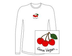Women's Gone Vegan Long Sleeve Tee