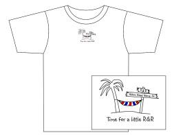 Men's R&R (Hilton Head Island) Short Sleeve Tee – White